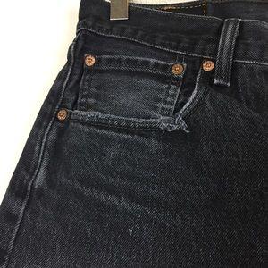 Levi's Shorts - Vintage Levi's 501 shorts distressed black